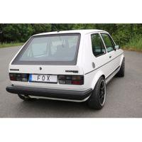 FOX  Sportauspuff  VW Golf 1 GTI  1.8l 82 kW / 112 PS - 1x60 Typ 23 Bild 7