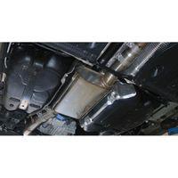 FOX 76 mm Mittelschalldämpfer / Vorschalldämpfer VW Golf 7 R Variant 2,0l 206/221kW Bild 2