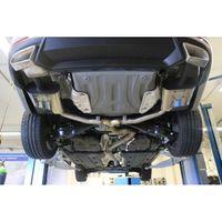 FOX Duplex Sportauspuff Skoda Octavia 5E RS  2,0l TDI 135kW - 4x4 mit Diesel-Endrohrblenden rechts/links ab Kat - Austritt der Endrohre in den originalen Diesel-Endrohrblenden Bild 3