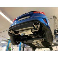 FOX Duplex Sportauspuff Ford Focus 4 1,5l 111/134kW starrer Hinterachse - 2x80 Typ 16 rechts/links Bild 4