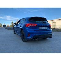 FOX Duplex Sportauspuff Ford Focus 4 ST-Line 1,5l 111/134kW Einzelradaufhängung - 2x90 Typ 16 rechts/links