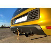 FOX Duplex Sportauspuff inkl. Flexstück Renault Twingo 3 - BCM 0,9l 66/68kW 1,0l 48/51/52/54kW - 1x80 Typ 14 rechts/links CS-Tuning Logo