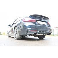 FOX Duplex Sportauspuff BMW F36 - 440i 3,0l 240kW Grand Coupe M-Paket - 1x100 Typ 25 rechts/links schwarz emalliert - mit Abgasklappe im linken Endrohr Bild 6