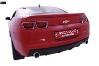 REMUS Sportauspuff links Chevrolet Camaro LLT ab 09 3.6l - 1x98mm