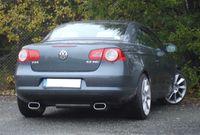FOX Duplex Sportauspuff VW Eos 160x80 Typ 57 rechts/links