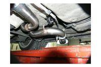 FOX Komplettanlage Side Pipe VW Golf 4,Bora,Variant 130x50 Typ 50 (AnschlussØ 55 mm) Bild 7