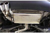 FOX Komplettanlage VW Golf 5 GTI / TSI / TFSI / GTD 1K - 2x76mm Typ 17 (Anschluss Ø 70mm)