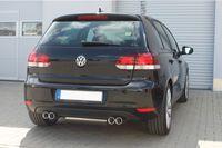 FOX Duplex Sportauspuff VW Golf 6 2x80 Typ 13 rechts/links Bild 6