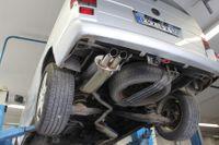 FOX Sportauspuff VW Bus T4 - Frontantrieb - Bus/ Transporter/ Multivan/ Caravelle - 2x63 Typ 28 Dieseloptik Bild 6