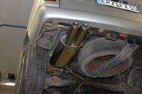 FOX Sportauspuff VW Bus T4 2x80 Typ 13 Bild 6