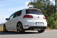 FOX Duplex Rennsportanlage VW Golf 6 GTI 1x90 Typ 25 rechts/links