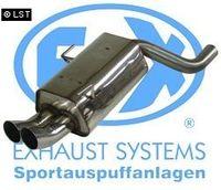 FOX Komplettanlage Audi 80 Typ B4 Quattro 2x76 Typ 18