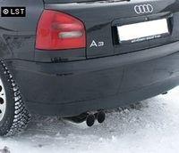 FOX Sportauspuff Audi A3 Typ 8L 2x76 Typ 18