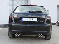 FOX Duplex Komplettanlage Audi A3 Typ 8P Sportback 2x76 Typ 13 rechts/links Bild 5