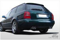 FOX Duplex Komplettanlage Audi A4 Typ B5 2x76 Typ 13 rechts/links
