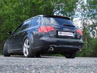 FOX Duplex Sportauspuff Audi A4 Typ B7 Quattro 1x90 Typ 17 rechts/links Bild 8