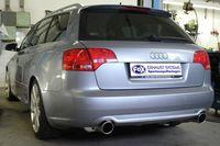 FOX Duplex Sportauspuff Audi A4 Typ B7 Quattro 1x90 Typ 17 rechts/links Bild 6