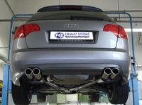 FOX Duplex Sportauspuff Audi A4 Typ B7 Quattro 2x88x74 Typ 32 rechts/links Bild 6
