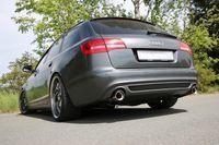 FOX Duplex Sportauspuff Audi A6 Typ 4F Quattro 1x90 Typ 17 rechts/links Bild 5