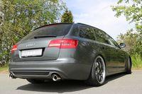 FOX Duplex Sportauspuff Audi A6 Typ 4F Quattro 1x90 Typ 17 rechts/links Bild 6
