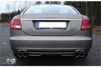 FOX Duplex Sportauspuff Audi A6 Typ 4F Quattro 2x76 Typ 17 rechts/links Bild 2