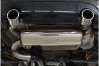 FOX Duplex Sportauspuff Audi TT Typ 8N Quattro 1x100 Typ 17 rechts/links Bild 6