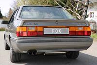 FOX Sportauspuff Audi 80 Typ 81/85 Quattro 2x76 Typ 10 Bild 6