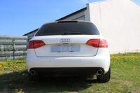 FOX Duplex Sportauspuff Audi A4 B8 Limousine Avant + S-Line 2.0TFSI - 1x100mm Typ 16 rechts links Bild 5