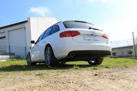 FOX Duplex Rennsportanlage ab Kat Audi A4 B8 Limousine Avant + S-Line 2.0TFSI - 1x100mm Typ 16 rechts links Bild 4