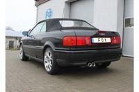 FOX Komplettanlage Audi 80/90 Typ 89 2x76 Typ 13