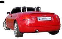 FOX Sportauspuff Audi TT Typ 8N 1x100 Typ 17 Bild 2