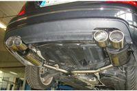 FOX Duplex Sportauspuff Mercedes Benz C-Klasse  C180/C200 Typ W204 2x115x85 Typ 32 rechts/links Bild 2