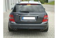 FOX Duplex Sportauspuff Mercedes Benz C-Klasse  C180/C200 Typ W204 2x70 Typ 16 rechts/links Bild 2