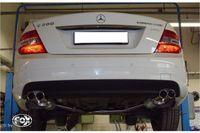 FOX Duplex Sportauspuff Mercedes Benz C-Klasse  C180/C200 Typ W204 2x70 Typ 16 rechts/links Bild 4