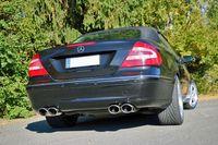 FOX Duplex Sportauspuff Mercedes Benz CLK-Klasse Typ 209 2x115x85 Typ 32 rechts/links Bild 6