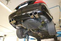 FOX Duplex Sportauspuff Mercedes Benz CLK-Klasse Typ 209 2x115x85 Typ 32 rechts/links Bild 9