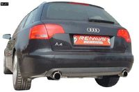 REMUS Duplex Sportauspuff Audi A4 8E B7 Facelift Lim. Avant ab 05 2.0l 2.0TDI - 1x102mm rechts links Bild 2