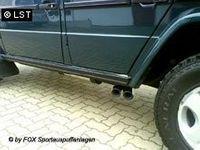 FOX Sportauspuff Mercedes Benz G-Klasse Typ 463 2x76 Typ 14, Sidepipe Bild 2
