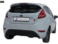 FOX Sportauspuff Ford Fiesta MK7 ab 08 inkl. Sport S 1x145x65mm Typ 59 Bild 2