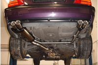FOX Duplex Sportauspuff BMW E36 M3 - 2x76 Typ 13 rechts links