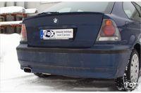 FOX Sportauspuff BMW E46 316Ti  318Ti  325Ti - 135x80 Typ 53 Bild 4