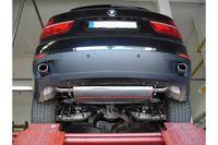 FOX Duplex Sportauspuff  BMW X5 E70 - 93x79mm Typ 71 rechts links