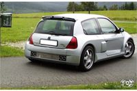 FOX Duplex Sportauspuff Renault Clio II ab 00 3.0l - 2x76mm Typ 12 rechts links Bild 3