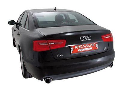 REMUS Sportauspuff rechts Audi A6 C7 Quattro ab 11 3.0TDI - 1x102mm