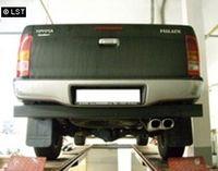 FOX Endrohrsystem Toyota Hilux Double Cap ab 07 - 2x93x79mm Typ 71 Bild 2