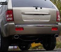FOX Duplex Sportauspuff Jeep Grand Cherokee WH ab 05 - 1x115x85mm Typ 33 rechts links