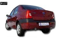 FOX Duplex Sportauspuff Dacia Logan Limousine ab 04 Diesel - 1x90mm Typ 13 rechts links