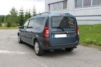 FOX Duplex Sportauspuff Dacia Logan Kombi ab 04 - 1x130x50mm Typ 52 rechts links Bild 3