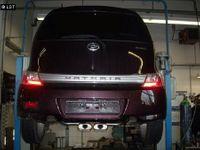 FOX Sportauspuff Daihatsu Materia ab 06 - 2x150x70mm Typ 53 mittig Bild 2