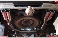 FOX Duplex Sportauspuff Dodge RAM 1500 ab 08 - 2x100mm Typ 13 rechts links